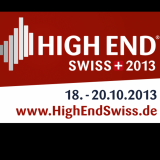 High End Suisse 18-20 octobre 2013