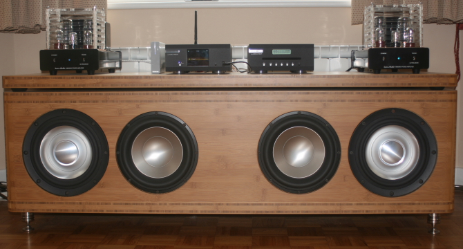 Pictures of JO 20 Stereo Stero Sub-Woofer